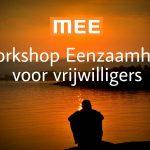 workshop eenzaamheid vrijwilligers